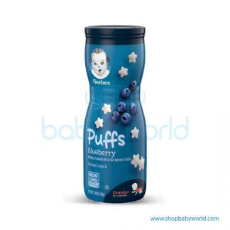 Gerber Puffs Blueberry for Baby 9 months up 42g(6)