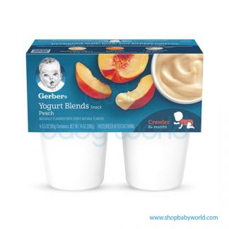 GERBER Yogurt Blends Peach 396g(4)
