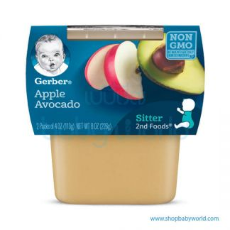 Gerber 2nd food Apple Avocado 226g(2)