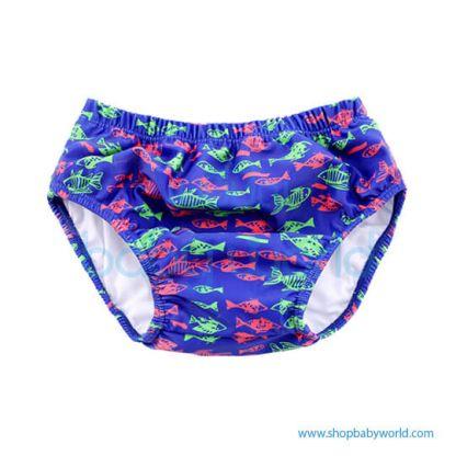 Beverly Kids Baby Waterproof Swim Strunk - Blue