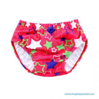 Beverly Kids Baby Waterproof Swim Strunk - Star Red