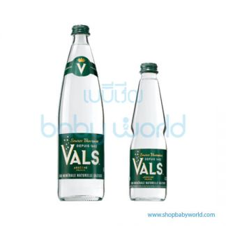 VALS Natural Sparkling Water Glass Bottle 75cl (12) (UC)