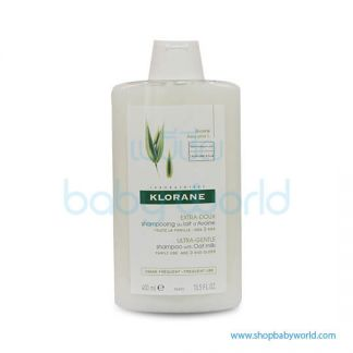 Klorane Shampoo Oat Milk Gentle Protecting 400ml(1)