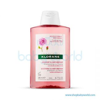 Klorane Shampoo with Peony Irritated Scalp 200ml