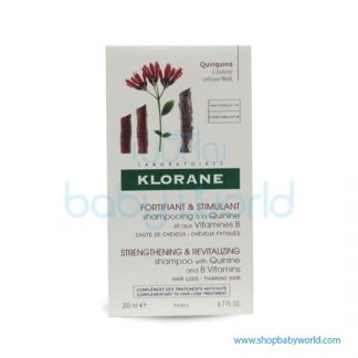 Klorane Shampoo Quinine Anti Hair Loss 200ml(1)