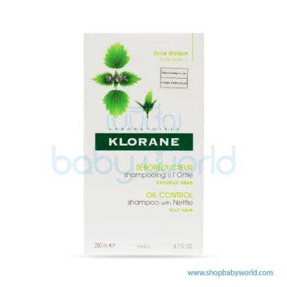 Klorane Shampoo Nettle Oily Hair 200ml