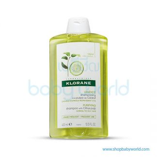 Klorane Shampoo Citrus Pulp Normal Oily Hair 400ml