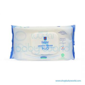Biolane Thick H2O Baby Wipes - 72 wipes/ ecological refill(1)