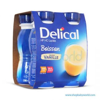 DELICAL-VANNILA 200ML(6)