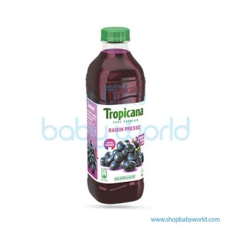 Tropicana 100% Grape Juice (No added sugar) 1L (6)