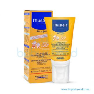 Mustela VERY HIGH PROTECTION SUN LOTION 40ML(1)