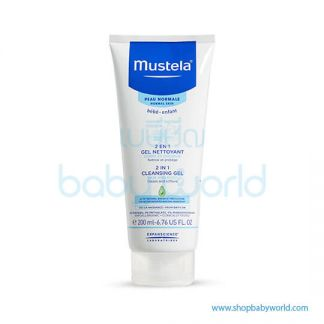 Mustela 2IN1 CLEANSING GEL 200ml(1)