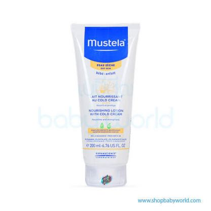 Mustela NOURISHING LOTION WITH COLD CREAM 200ml(1)