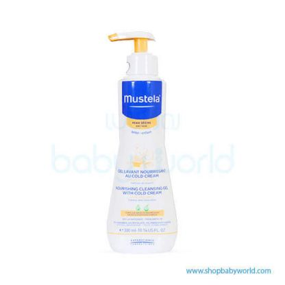 Mustela NOURISHING CLEANSING GEL WITH COLD CREAM 300ml(1)
