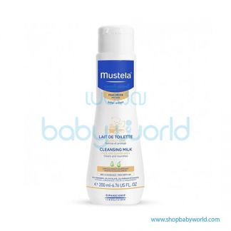Mustela CLEANSING MILK 200ml(1)