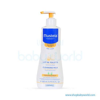 Mustela CLEANSING MILK 500ml(1)