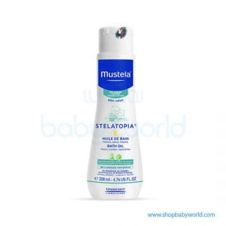 Mustela STELATOPIA BATH OIL 200ml(1)