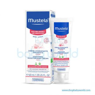 Mustela SOOTHING MOISTURIZING FACE CREAM 40ML(1)
