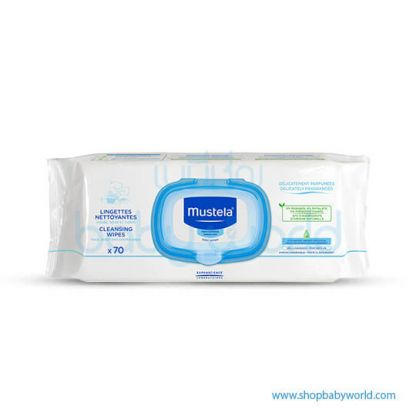 Mustela MUSTELA CLEANSING WIPES 70Pices(1)