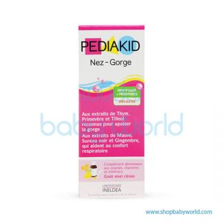 PediaKid Nez-Gorge Sirop-125ml(1)