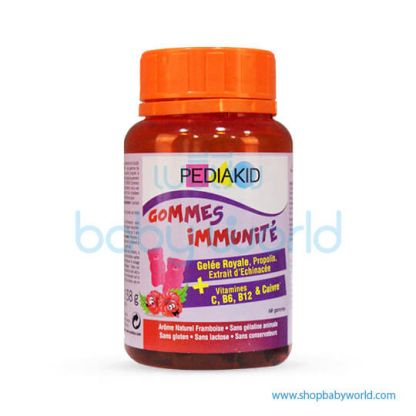 PediaKid Gommes Immunite-60 oursons(1)