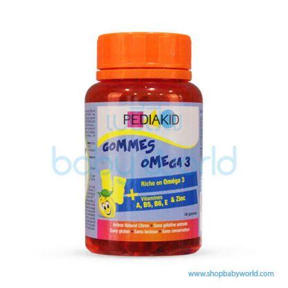 Pediakid Gommese Omega 3-60 ourson(1)
