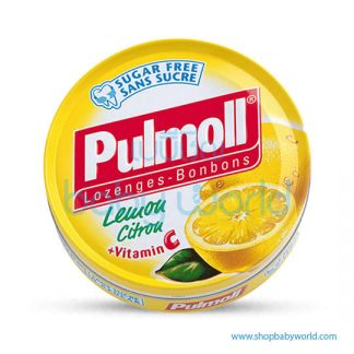 Pulmoll Lemon Sugar Free 45g (10)