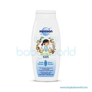 Sanosan Kid 2 in 1 Shower & Shampoo 250ml (6)