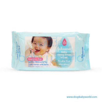 Johnson Baby Messy Times Wipe 80s (12)