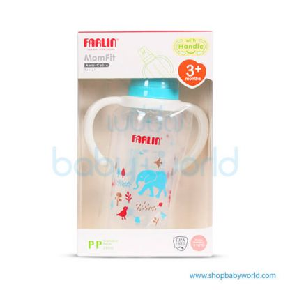 Farlin PP Feeding Bottle 240ml With Handle(1)