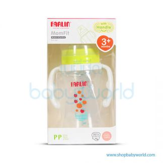 Farlin PP Feeding Bottle 270ml With Handle(1)