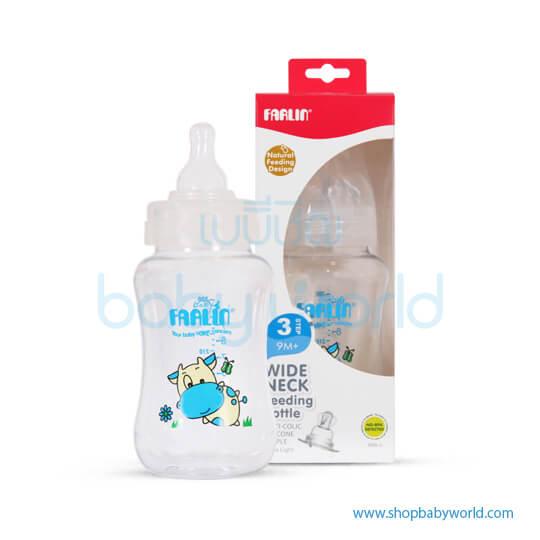 Farlin Feeding Bottle Wide-Neck 300ml(1)