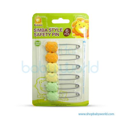 SIMBA_STYLE SAFETY PIN (6PCS) | P1722(24)