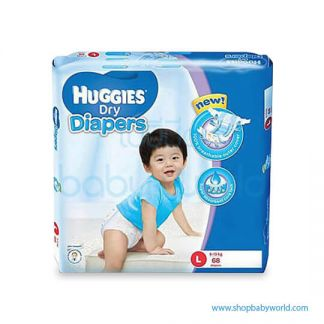 Huggies DIAPER DRY SUPER JUMBO L-68(3 )