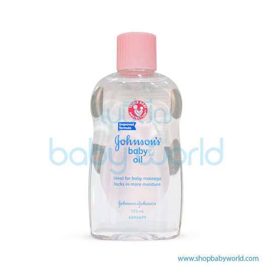 Johnson Baby Oil Reg 125ml (24)