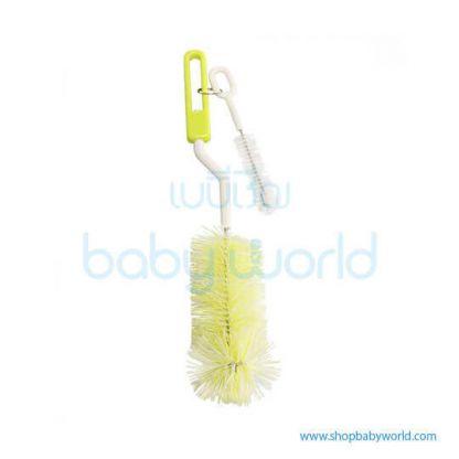Pigeon Nipple & Bottle Nylon Brush Yellow & Purple 04532(48)