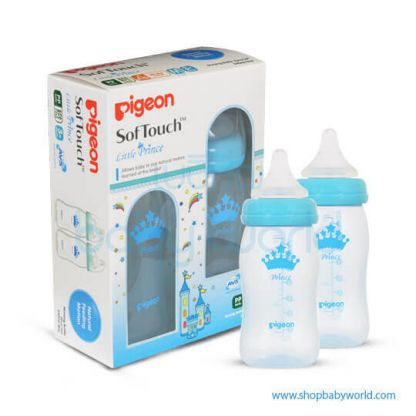 Pigeon WN Bottle Twin Pack 240ml, Prince 26460(48)