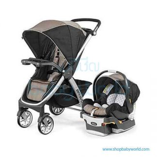Chicco Bravo Travel System Stroller and KeyFit 30 7079761400070(1)