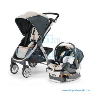 Chicco Bravo Travel System Champagne USA 7079