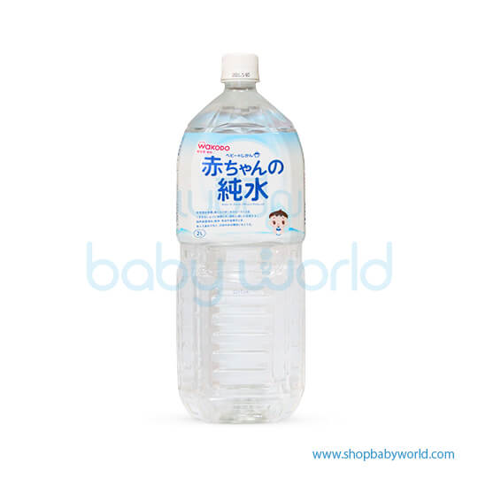 Wakodo Water For Baby (Minerals Reduced) 2L (6)