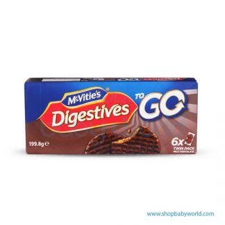 To Go Milk Chocolate Digestive 6x33.3g(12)