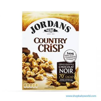 JORDANS Wholegrain Cereals & Dark Chocolate Crisp 550G (6)