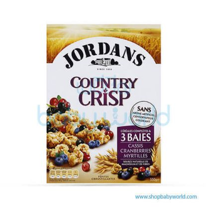 JORDANS Wholegrain Cereals & 3 berries 550G (6)