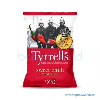 TYRRELLS SWEET CHILLI & RED PEPPER 150G(12)