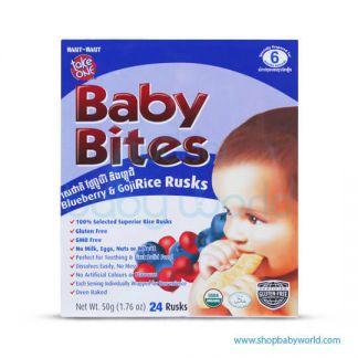 Baby Bites Blueberry & Goji 50g(12)