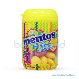 Mentos Sourmix Cocktail Bottle 120gm(8 )