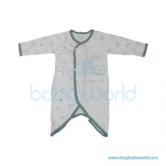 MafaBeBe Summer Short Sleeve Cloth Set Blue/White 80(1)