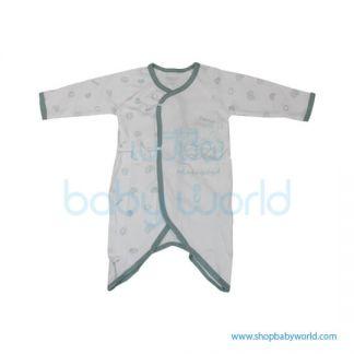 MafaBeBe Summer Short Sleeve Cloth Set Blue/White 80(1)