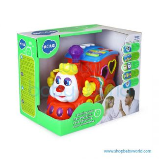 Hola Learning Loco with Music/Light/Block/Language Learning/Electric 556(2Pack 12)