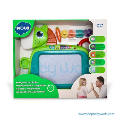 Hola Magnetic Scribbler with Music/Light 3131(2Pack 12)